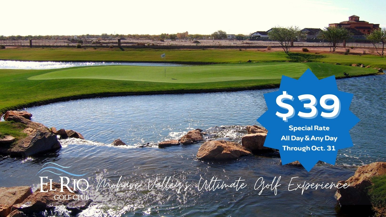 $39 Special Rate Through October 31